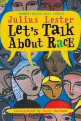 bookcover image let's talk about race