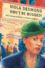 bookcover image Viola Desmond won't be budged