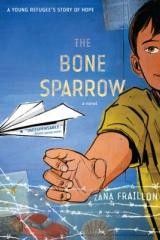 bookcover image for bone sparrow