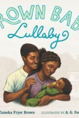 bookcover image for brown baby lullaby