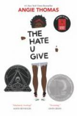 bookcver image for hate u give