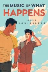 bookcover image for music of what happens