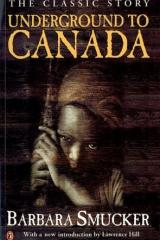 bookcover image for underground to Canada