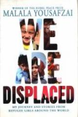 bookcover image for we are displaced
