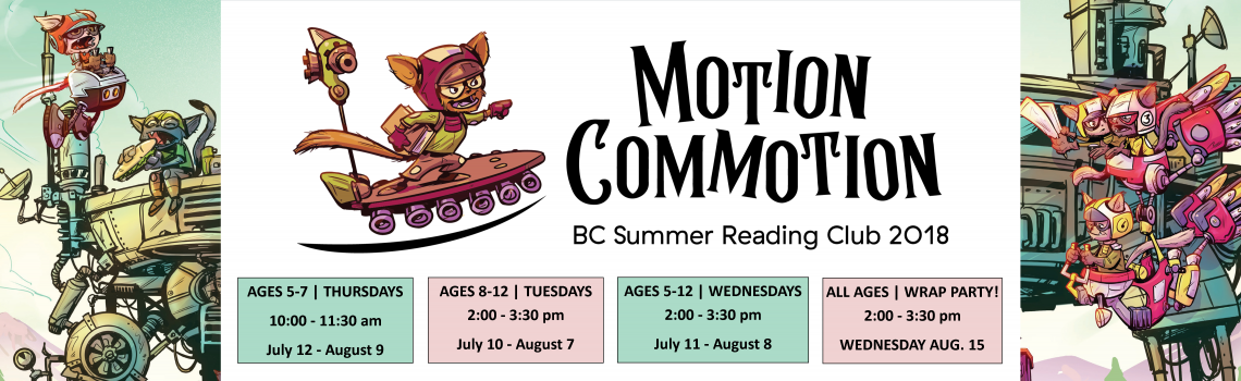 Click here for information about the 2018 summer reading club